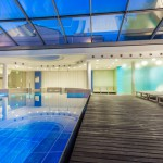 Relax in piscina dopo meeting aziendale