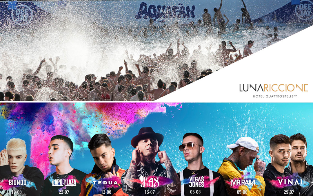 Aquafan Concerti estate 2018